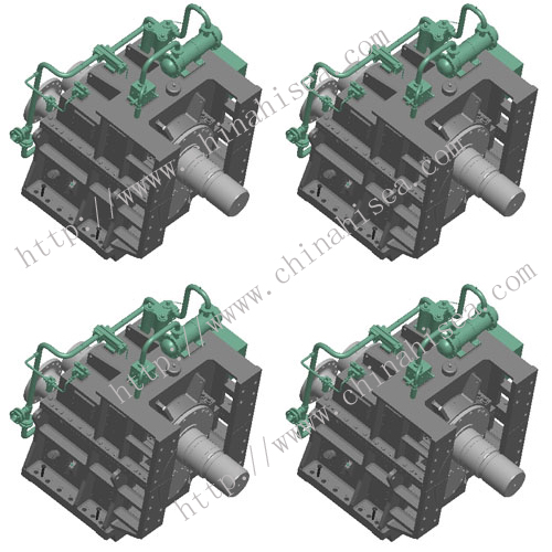 Dredger gearbox for Dredge pump