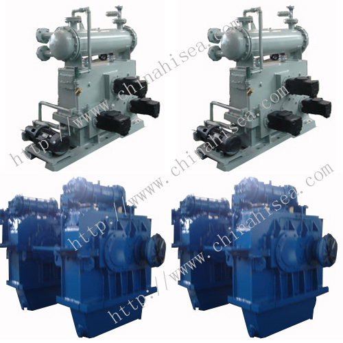 High pressure water pump gearbox