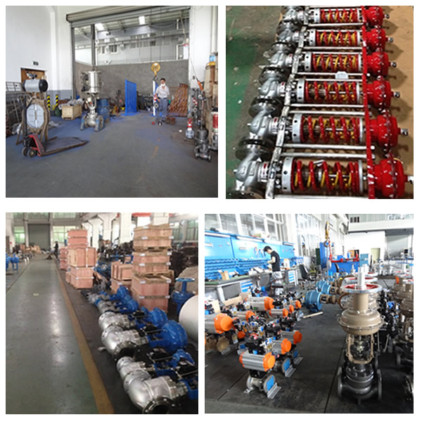 Mini Type Pneumatic Adjusting Valve Factory Show