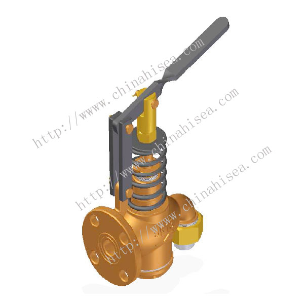 Marine Bronze Fuel Oil Tank Self-Closing Drain Valve JIS F7398U