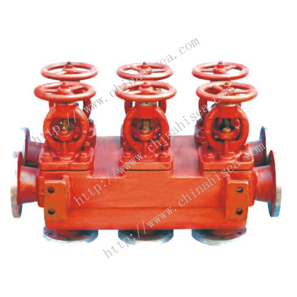 Marine Flanged Cast Iron Dual-Row Stop Valve Box
