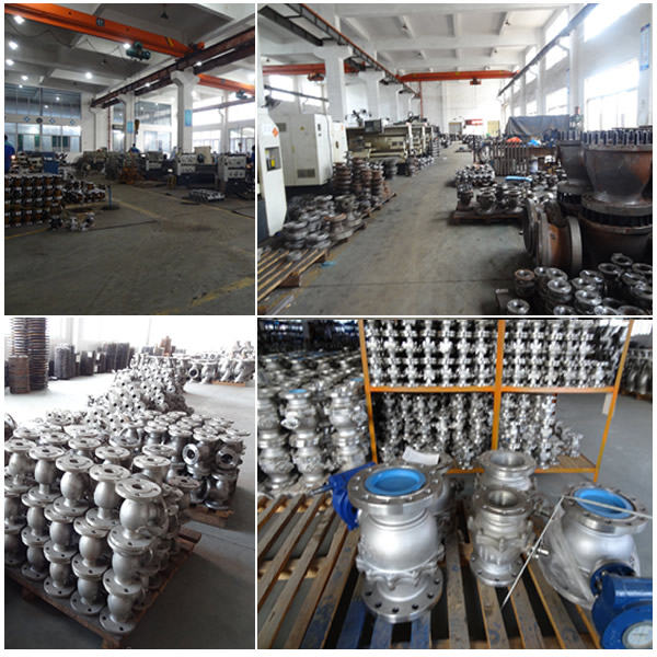 Cast Steel Floating Ball Valve Factory