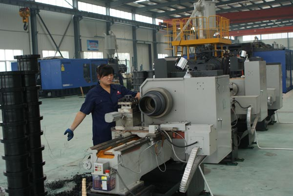 B16.47-series-B-Carbon-steel-weld-neck-and-blind-flanges-processing.jpg