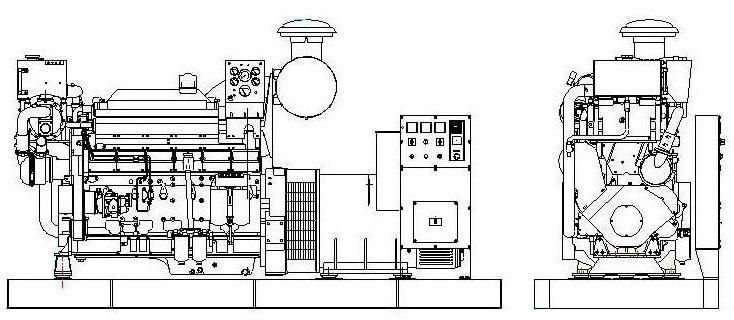 volvo series marine generator volvo series marine
