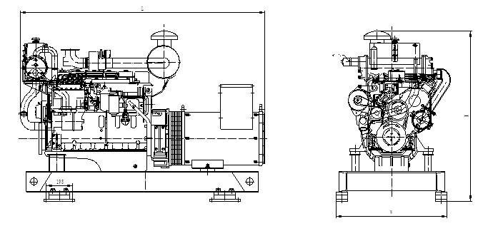 90kw marine diesel generator 90kw marine diesel generator