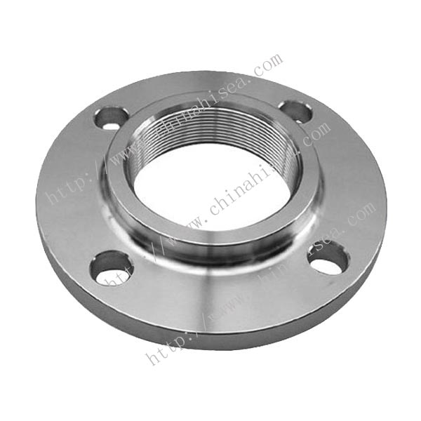 DIN carbon steel threaded flanges