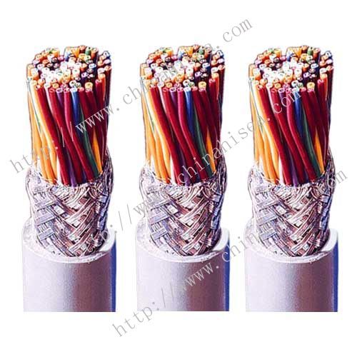 Flame retardant PVC control cable