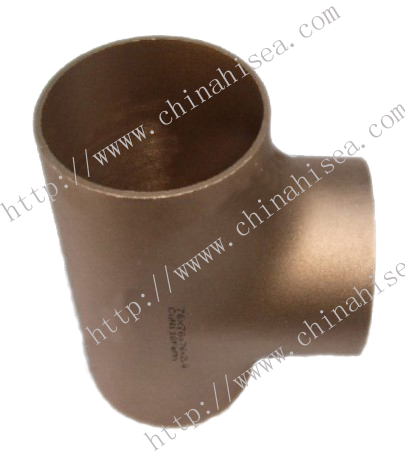 CuNi90/10 Copper Pipe Tee