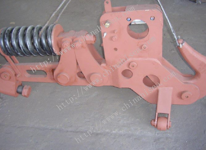16 ton pneumatic spring towing hook