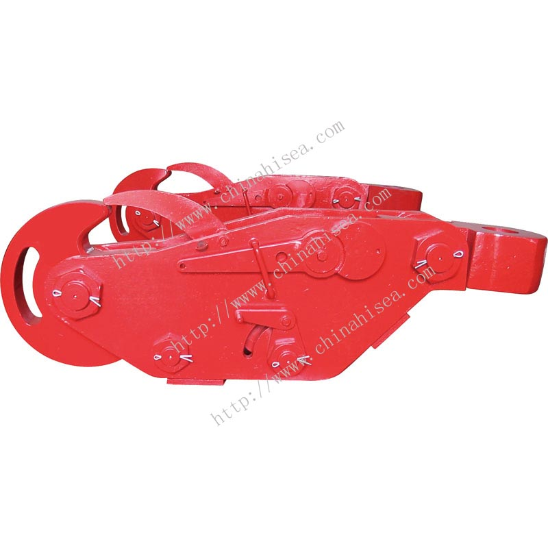 40 Ton Pneumatic disc towing hook