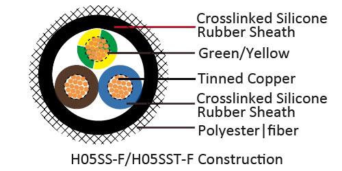 VDE H05SS-F/H05SST-F Heavy Cable,VDE H05SS-F/H05SST-F Heavy
