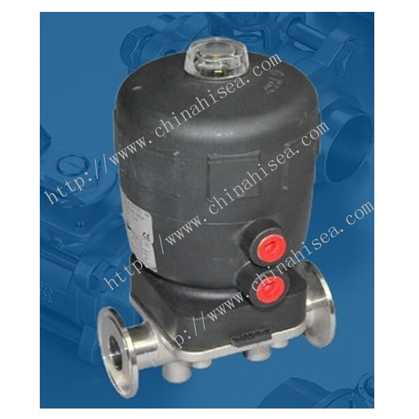 Normally Closed Pneumatic Diaphragm Valve Sample