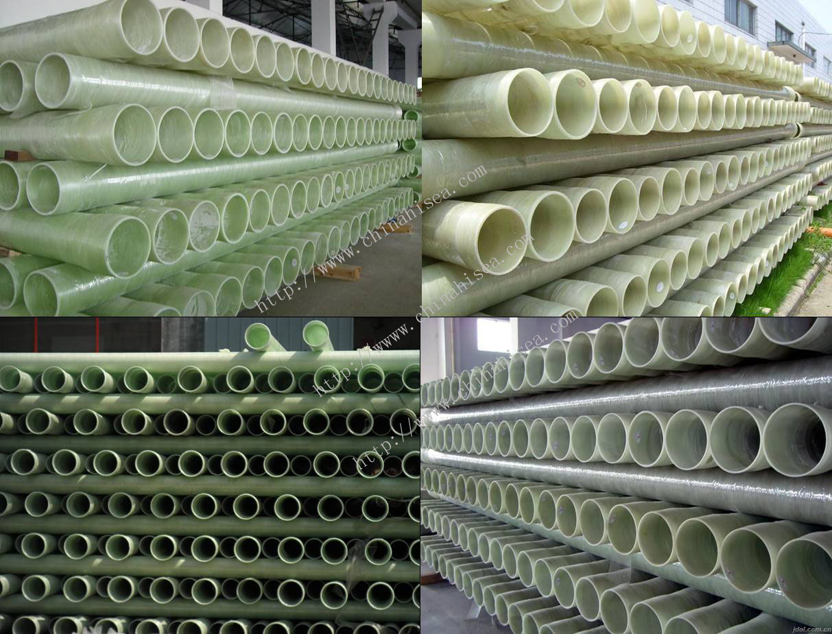 FRP High Pressure Pipe in Factory.jpg