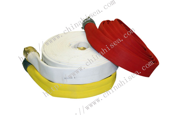 Double jacket high-pressure fire hose
