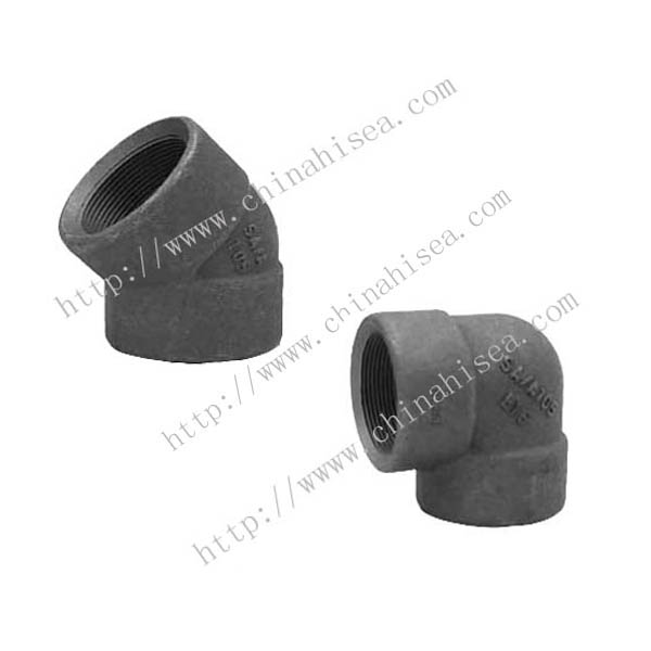 Forged steel class 2000 threaded elbows