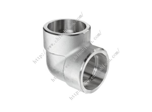 Degree socket weld elbow