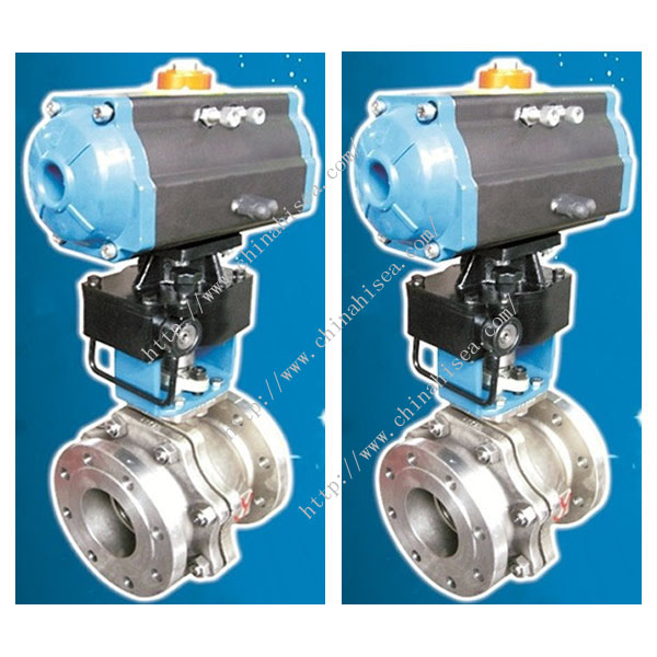 The pictures of O Type Ball Valve No. 2