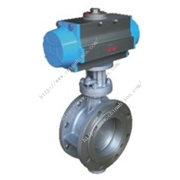 Pneumatic Metal Sealing Butterfly Valve