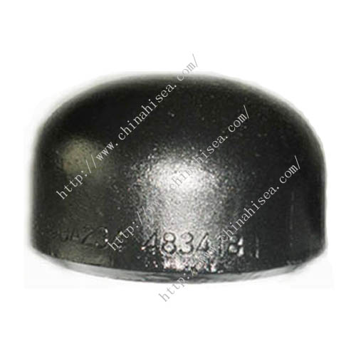 Carbon steel caps
