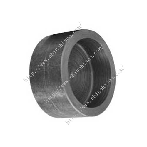 Forged steel socket weld caps class 3000