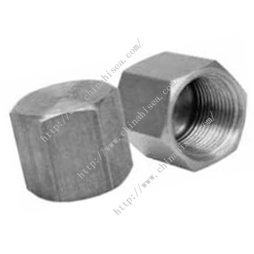 Merchant steel pipe caps
