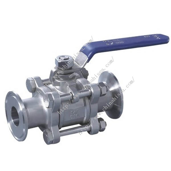 Manual Clamp Ball Valve