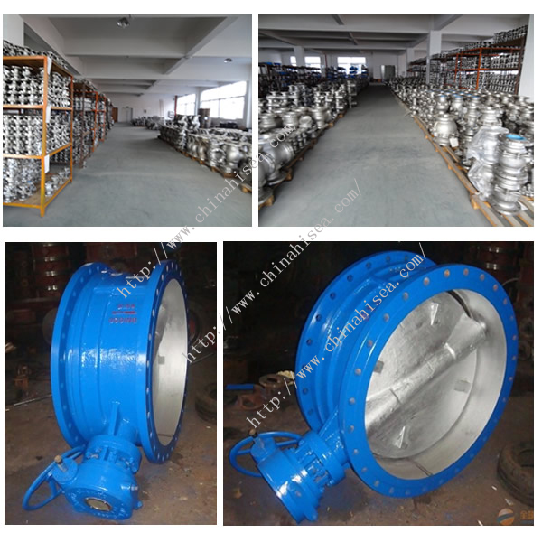 Worm Driven Expansion Butterfly Valve Factory