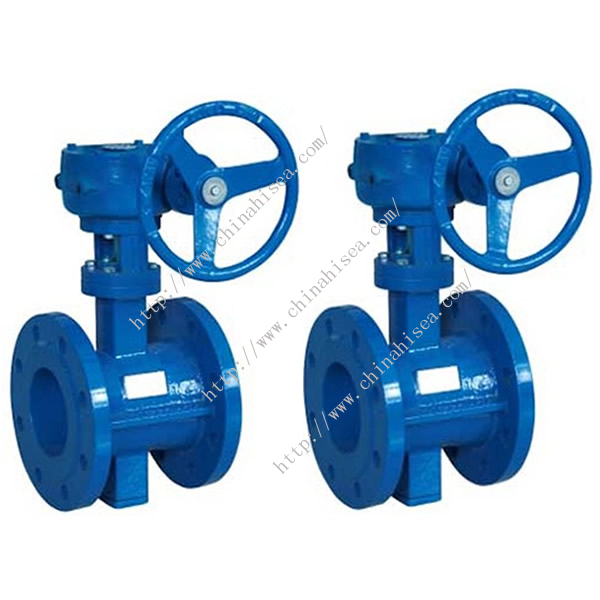 Double Eccentric Soft Sealing Butterfly Valve
