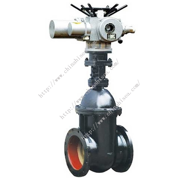Electric Non-rising Stem Gate Valve