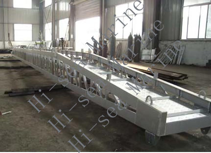 Marine Aluminium Alloy Wharf Ladder (Bend Type)