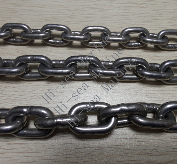 Stainless Steel Studless Link Anchor Chain