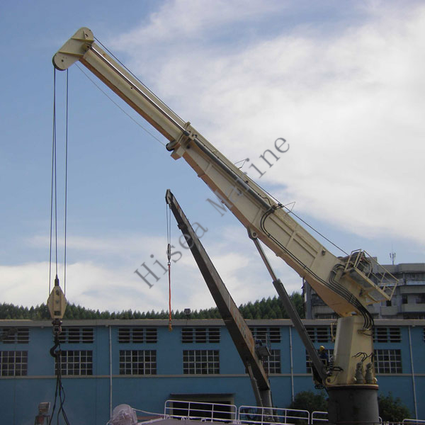 Electric Hydraulic Marine Telescopic Boom Crane