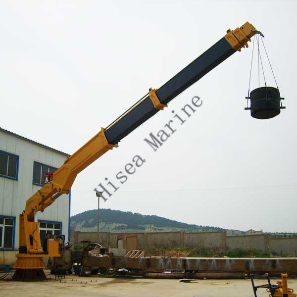 Telescopic Crane Marine : Marine crane manufacturer hi sea group