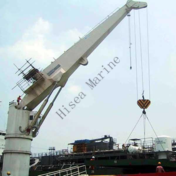 Yacht Hydraulic Crane : Hydraulic marine crane
