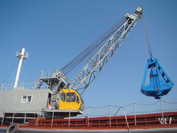 45t Electro Hydraulic Four Rope Grab Crane 45t Electro