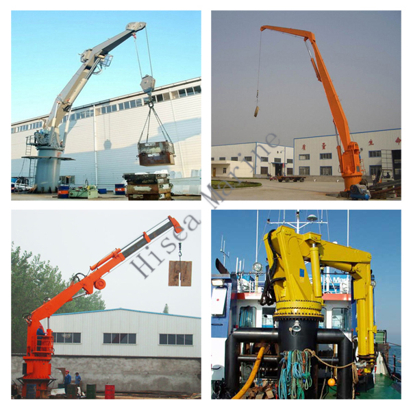 Knuckle Boom Cranes Manufacturers : Foldable knuckle boom cranes