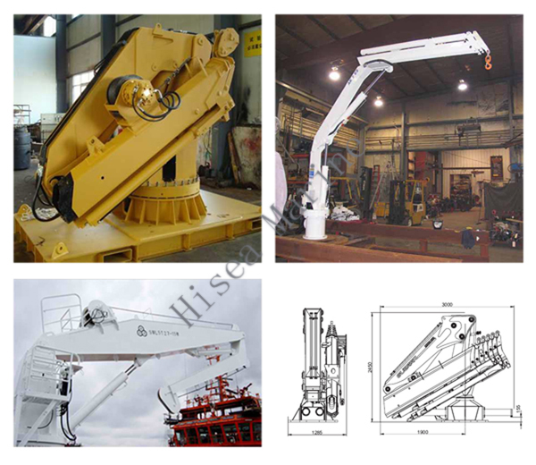 Foldable Knuckle Boom Cranes