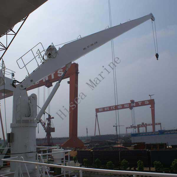 Yacht Hydraulic Crane : Hydraulic marine service crane