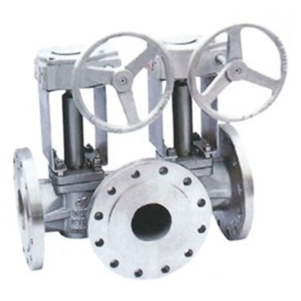 Three Way Eccentric Plug Valve