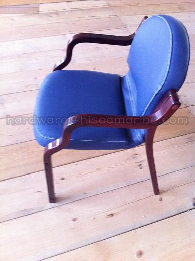 <strong>Marine Chair with Wooden Armrest</strong>