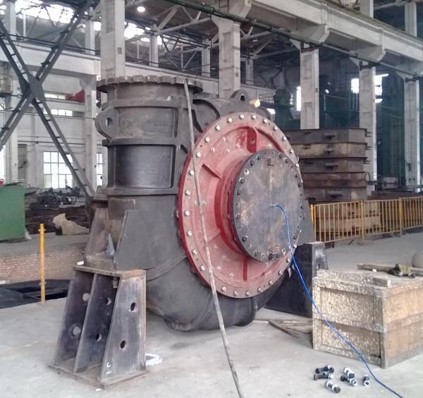 high pressure dredging pump factory test.jpg